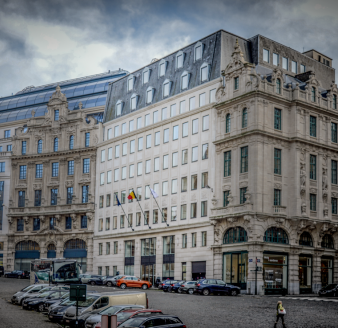The National Bank of Belgium rents the ex-Petercam building